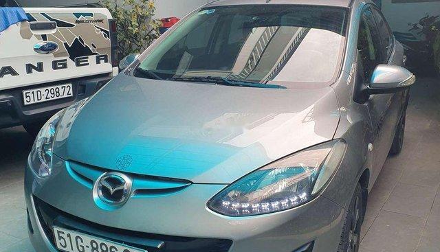Bán ô tô Mazda 2 năm sản xuất 2013, màu xám, giá chỉ 329 triệu