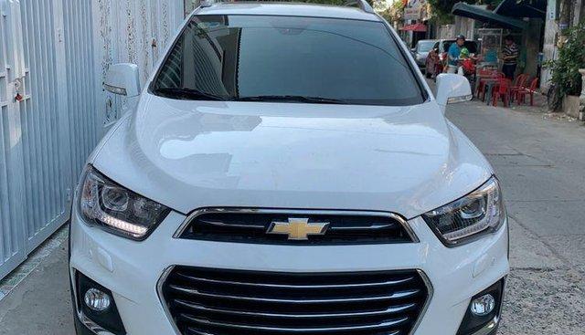 Chính chủ bán Chevrolet Captiva 2017, màu trắng, nhập khẩu