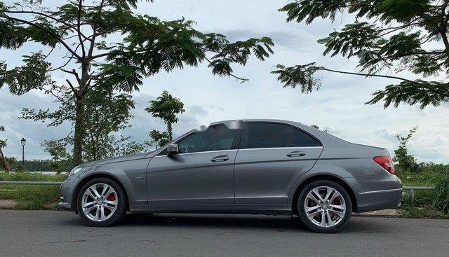 Bán xe Mercedes C250 2011, màu xám như mới, giá chỉ 599 triệu