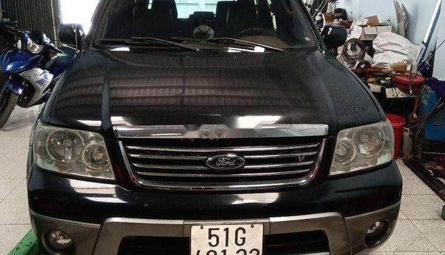 Bán Ford Escape Limited sản xuất năm 2004, màu đen, xe nhập
