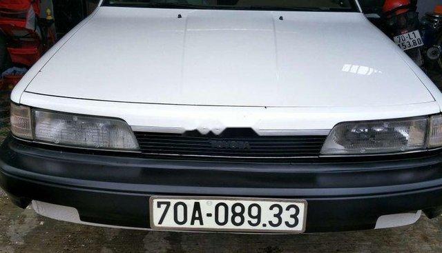 Bán lại xe Toyota Camry năm sản xuất 1987, màu trắng, xe nhập