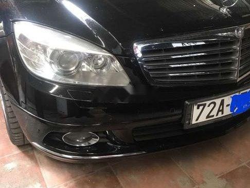 Bán Mercedes C250 CGI đời 2011, màu đen, nhập khẩu
