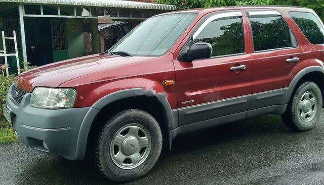 Bán Ford Escape 2.0 đời 2004, màu đỏ, phiên bản đặc biệt