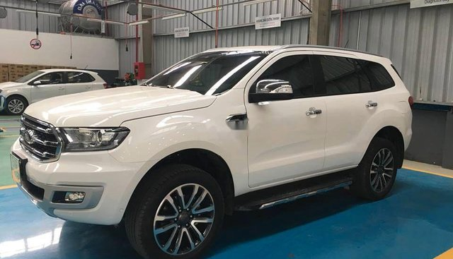 Bán Ford Everest năm sản xuất 2019, màu trắng, nhập khẩu, giá 979tr