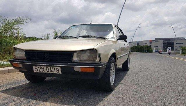 Bán Peugeot 505 SR 2.0 đời 1980, màu vàng, xe nhập
