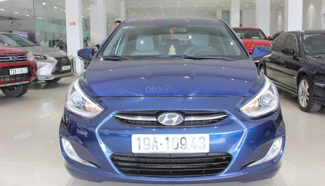 Cần bán Hyundai Accent năm sản xuất 2015, màu xanh lam, xe nhập, giá cạnh tranh