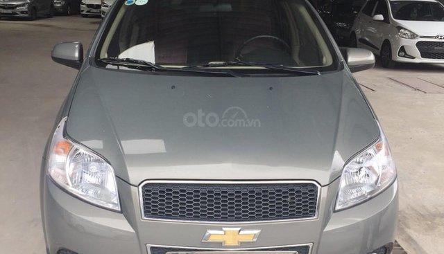 Bán Chevrolet Aveo LT 1.4MT màu xám chuột, số sàn, sản xuất 2018, xe đẹp