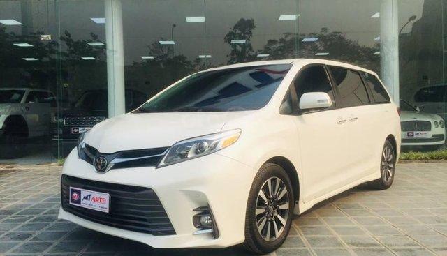 Toyota Sienna Limited 2019, màu trắng, nhập khẩu nguyên chiếc, LH 0844177222