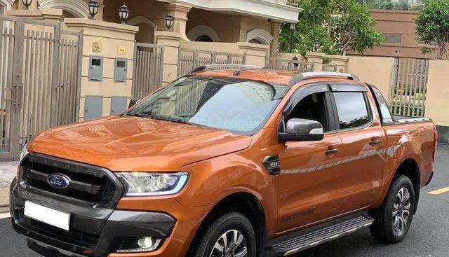 Cần bán xe Ford Ranger Wildtrak 3.2L năm sản xuất 2017, màu cam, xe nhập