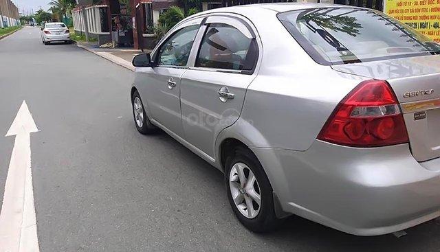 Cần bán gấp Daewoo Gentra SX 1.5 MT sản xuất 2007, màu bạc