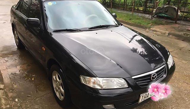 Cần bán xe Mazda 626 GLX 2003, màu đen giá cạnh tranh