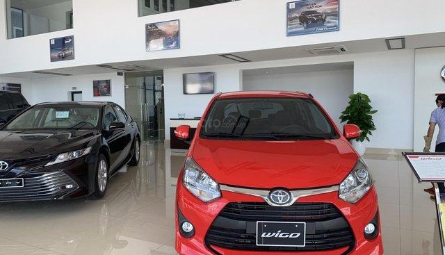 Bán Toyota Wigo số tự động chiếc giá rẻ nhất tại Nghệ An, hỗ trợ trả góp lên tới 85%, đủ màu, giao ngay, LH: 0931 399 886