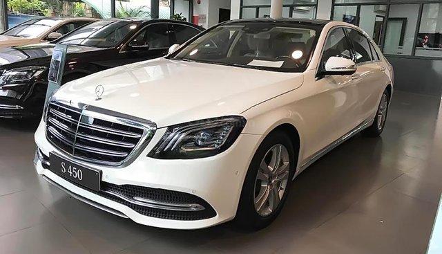 Bán ô tô Mercedes S450L năm sản xuất 2019, màu trắng