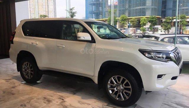 Cần bán Toyota Prado VX 2.7L sản xuất 2019, màu trắng, nhập khẩu
