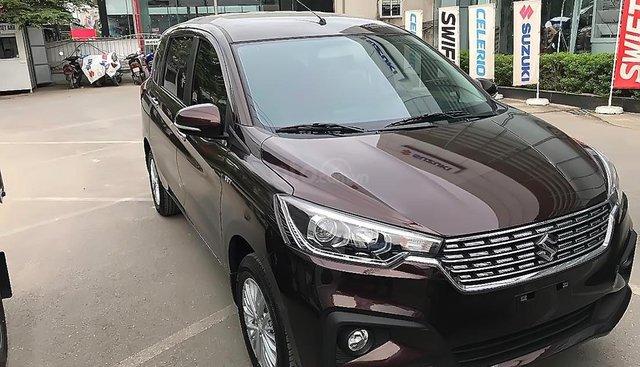 Bán Suzuki Ertiga GLX 1.5 AT 2019, màu nâu, nhập khẩu nguyên chiếc, 545 triệu
