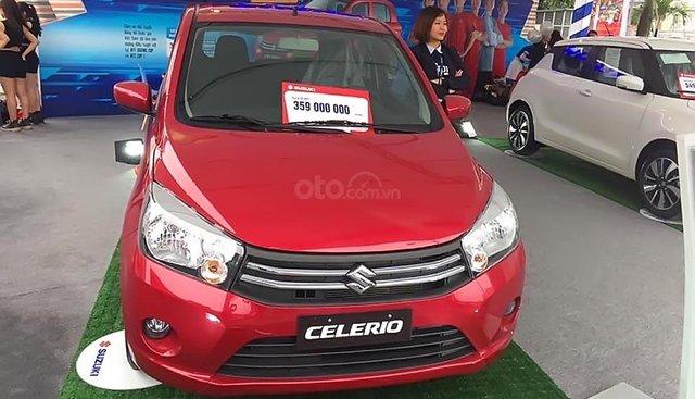 Bán Suzuki Celerio CVT đời 2019, màu đỏ, xe nhập