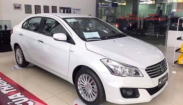 Bán Suzuki Ciaz AT sản xuất năm 2019, màu trắng, nhập khẩu nguyên chiếc