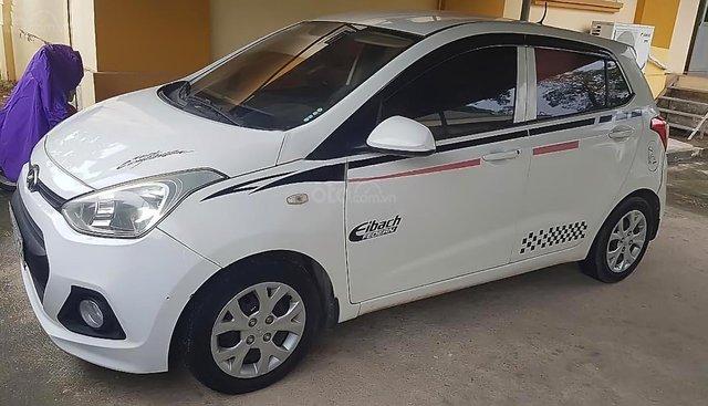 Cần bán Hyundai Grand i10 1.0 MT đời 2014, màu trắng, nhập khẩu nguyên chiếc