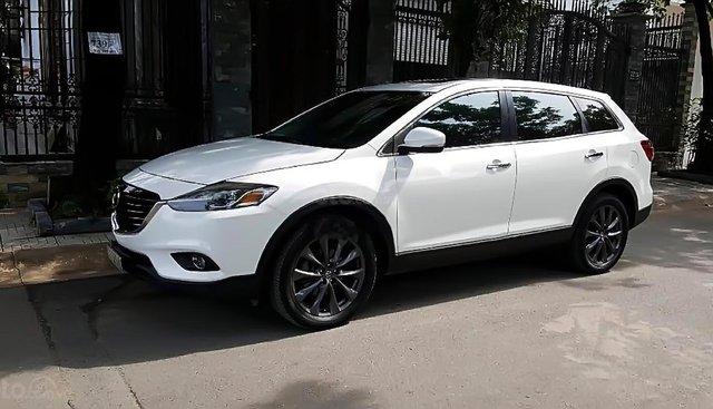 Cần bán gấp Mazda CX 9 3.7 AT AWD năm sản xuất 2013, màu trắng, nhập khẩu còn mới