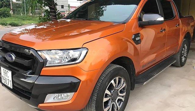 Bán Ford Ranger Wildtrak 3.2L 4x4 AT sản xuất năm 2017, nhập khẩu
