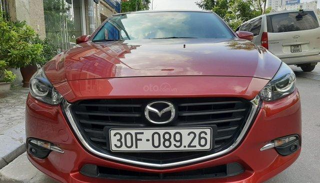 Bán ô tô Mazda 3 Facelift sản xuất 2017, màu đỏ, giá tốt