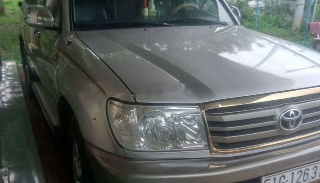 Bán Toyota Land Cruiser năm sản xuất 2002, màu bạc, nhập khẩu