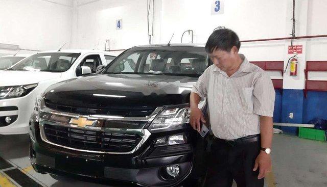 Bán Chevrolet Trailblazer sản xuất 2019, màu đen, xe nhập