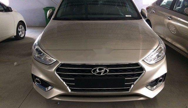 Bán xe Hyundai Accent sản xuất năm 2019, màu vàng, nhập khẩu nguyên chiếc