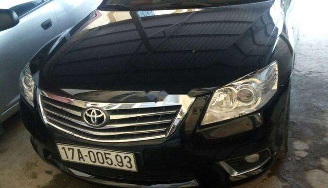 Bán Toyota Camry 2.4G năm 2011, màu đen, chính chủ