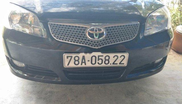 Bán Toyota Vios đời 2007, màu đen, nhập khẩu