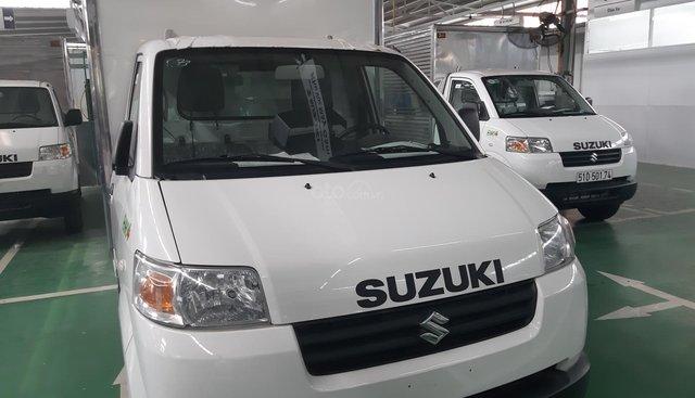 Bán xe tải Suzuki thùng kín, gắn máy lạnh