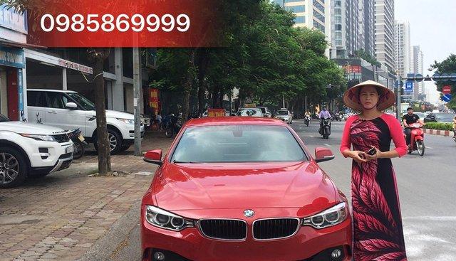 Bán ô tô BMW 428i Convertible - độ Full M4 model 2015, màu đỏ, xe nhập