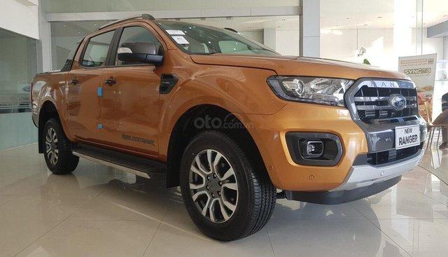 Ford Hà Thành bán Ford Ranger Wildtrak 2.0 tubor kép đời 2019, nhập khẩu nguyên chiếc giá tốt nhất miền bắc