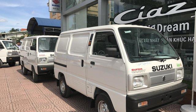 Bán xe Suzuki tải Van mới 100%, giá chỉ 283 triệu liên hệ 0911935188