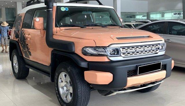 Bán xe Toyota Fj cruiser 4WD AT năm sản xuất 2008, xe nhập