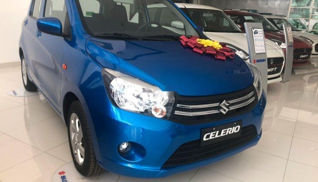 Bán xe Suzuki Celerio sản xuất 2019, màu xanh lam, nhập khẩu