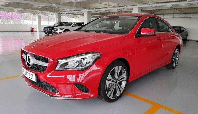 Bán ô tô Mercedes CLA 200 năm 2017, màu đỏ, nhập khẩu nguyên chiếc