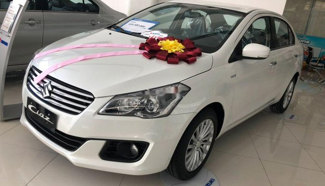 Bán Suzuki Ciaz đời 2019, màu trắng, nhập khẩu Thái