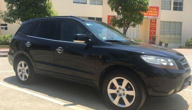 Chính chủ bán Hyundai Santa Fe MLX sản xuất 2008, màu đen, nhập khẩu