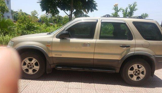 Bán ô tô Ford Escape 2003, màu vàng cát