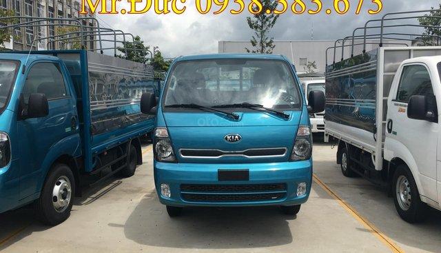 Bán Kia K200 tải trọng dưới 2 tấn, động cơ Hyundai