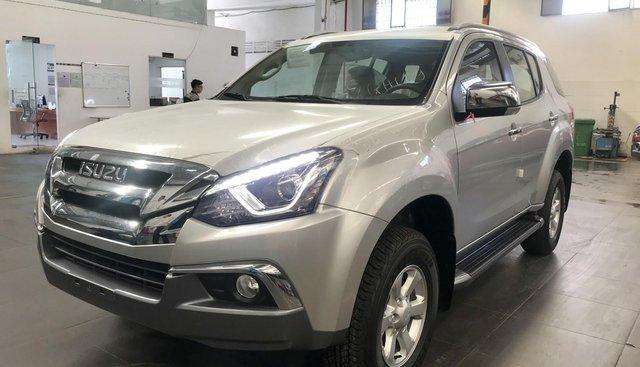 Bán Isuzu Mu-X B7 số sàn 2019 màu bạc - Giá ưu đãi