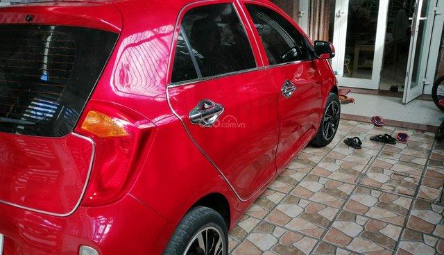 Cần bán gấp Kia Morning đời 2014, màu đỏ còn mới giá chỉ 220 triệu đồng