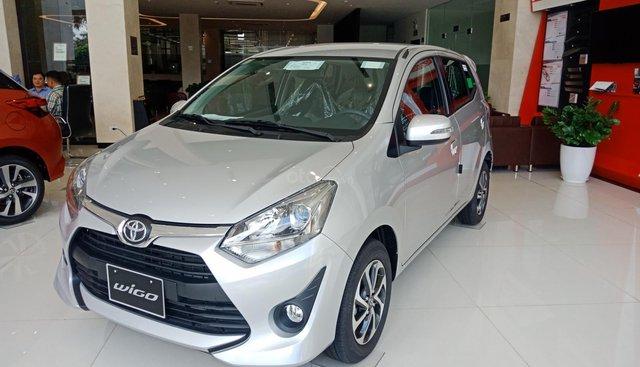 Bán Toyota Wigo nhập khẩu, giao ngay, giá cực sốc, siêu khuyến mãi. Hỗ trợ vay góp đên 85%