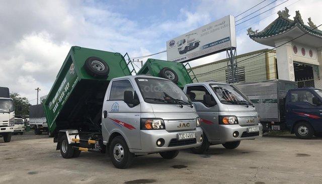Bán xe chuyên dùng chở rác 3.4 khối, nhãn hiệu JAC xuất xưởng 2019
