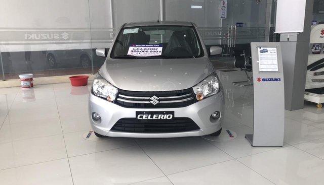 Bán Suzuki Celerio đời 2019, màu xám (ghi), nhập khẩu nguyên chiếc Thái Lan. Giảm ngay 15 triệu đồng