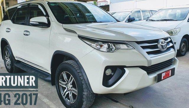Toyota Fortuner 2.4G 4x2MT năm sản xuất 2017, màu trắng, nhập khẩu