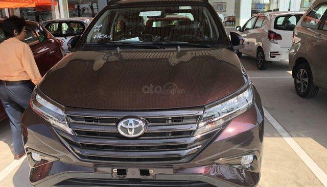 Bán Toyota Rush 1.5S AT năm 2019, màu đỏ, xe nhập, thanh toán 250tr nhận xe