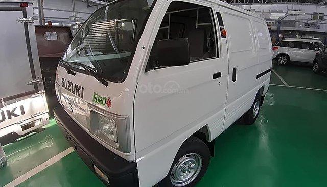 Cần bán Suzuki Super Carry Van năm sản xuất 2019, màu trắng giá cạnh tranh