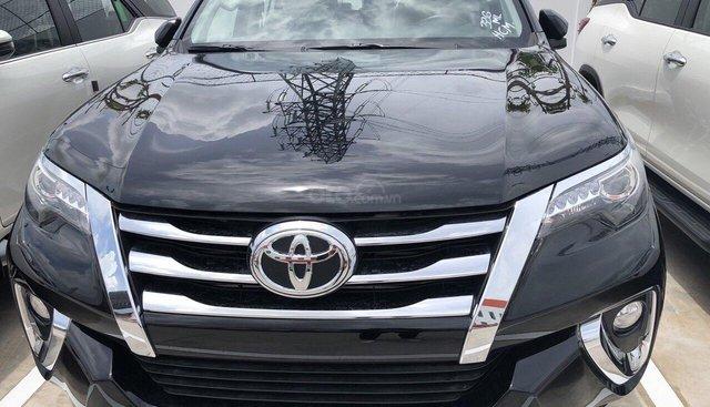 Bán Toyota Fortuner 2.7V (4x4) đời 2019, màu đen - Máy xăng - Giao ngay - Toyota An Thành